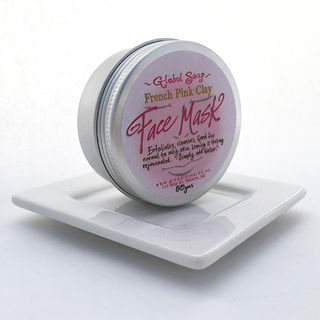 Global Soap - French Clay Mask - Pink
