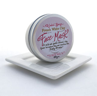 Global Soap - French Clay Mask - White