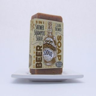 Global Soap - 3-in-1 Beer Soap - Oatmeal Stout