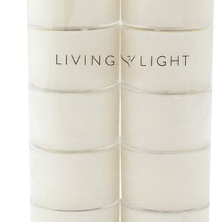 Living Light - Soy Tealight Fragrance Free 10 pack