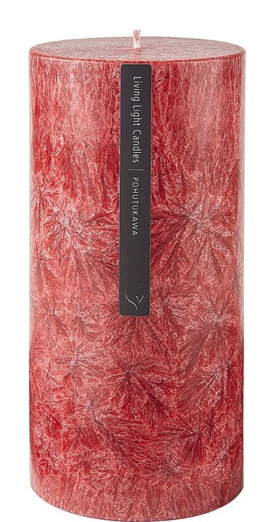 Living Light - Pillar Candle 70mm - Red - Pohutukawa