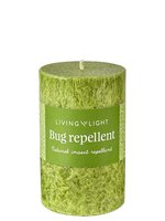 Living Light - Bug Repellent Candle Green