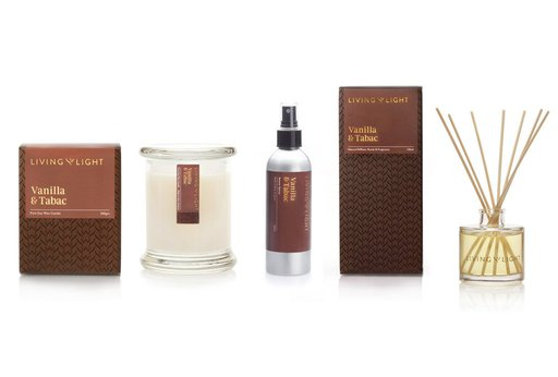 Living Light - Luxury Gift Set - Vanilla & Tabac