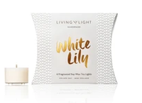 Living Light - Dream Soy Tealights Boxed - White Lily
