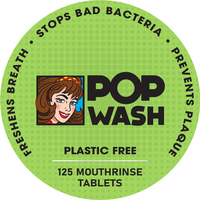 PopWash - MouthRinse Tablets (125)